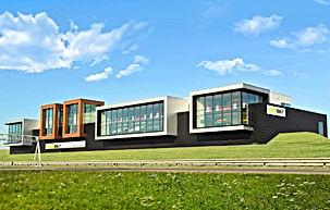 Nieuwbouw showroom Kees Smit Tuinmeubelen Amersfoort Van der Linde Architecten