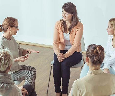las mujeres del grupo de discusión