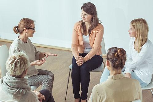 WOMEN SUPPORT GROUP Wednesdays, October 31 - November 14, 2018