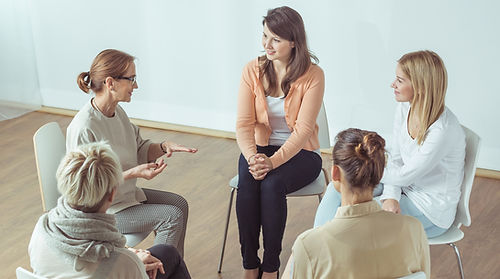 mulheres grupo de discussão