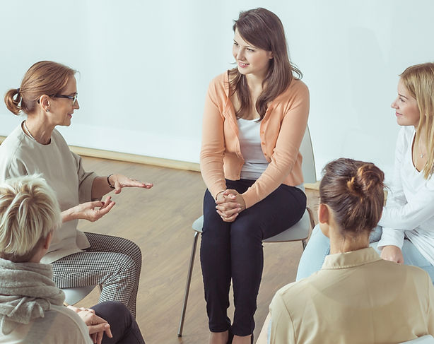 Group counseling to fit your needs.