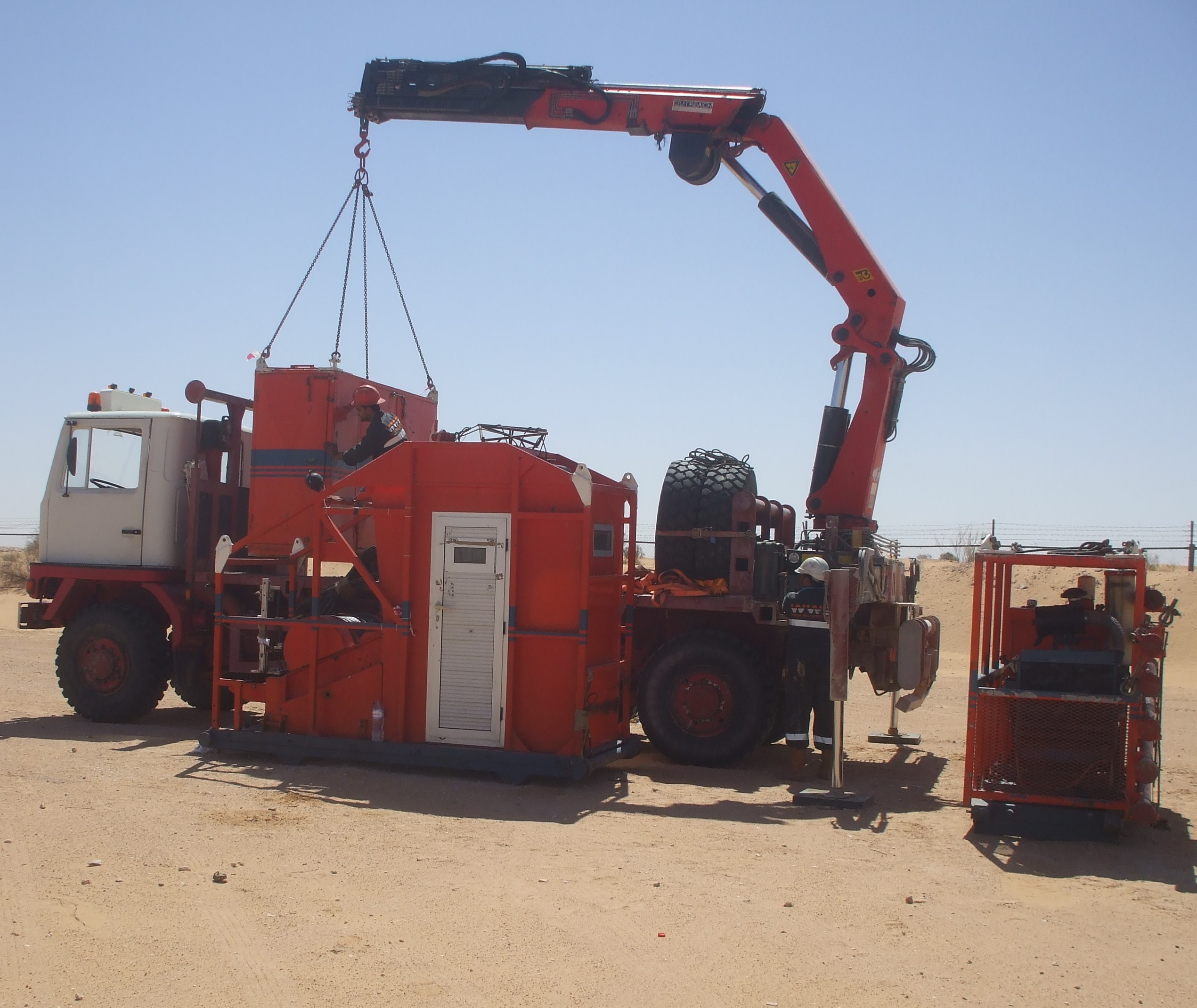 Crane Mobilisation