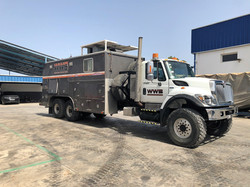Triple Drum Wireline Trucks