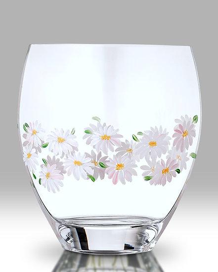 Daisy Curved Vase