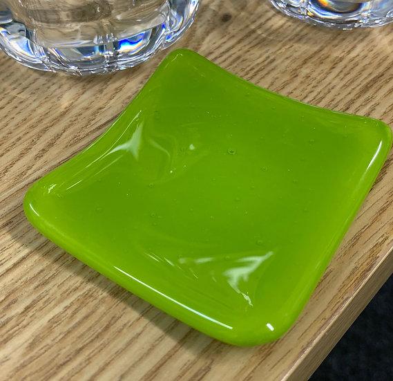 Pea Pod Green Slumped Dish