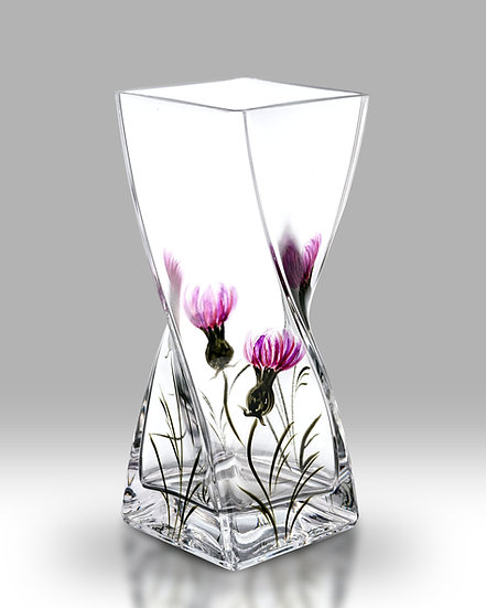 Thistle Twist Vase