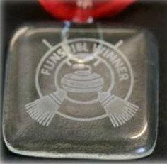 Glass Medal Square