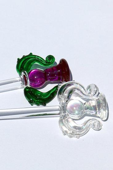 Thistle Swizzle Stick