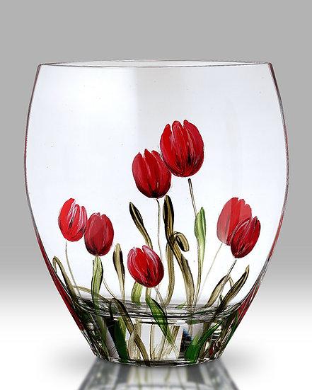Tulip Curved Vase