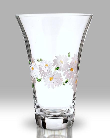 Daisy Flared Round Vase