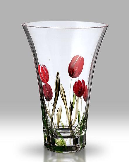 Tulip Flared Round Vase