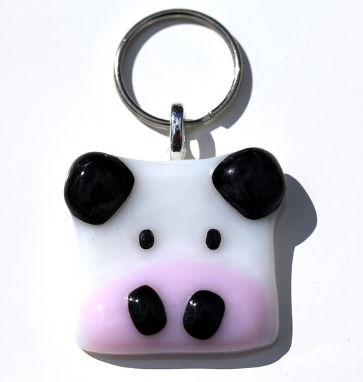 Cow Keyring