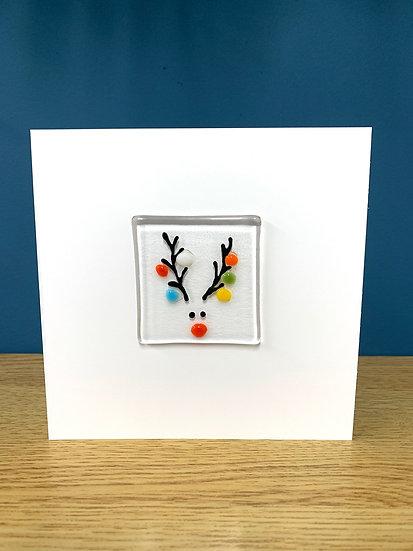 Reindeer Christmas Card