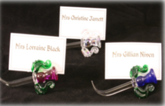 Thistle Place Card Holders