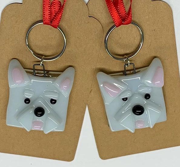 Westie |Dog Keyring