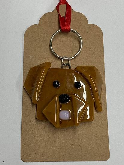 Labrador Dog keyring