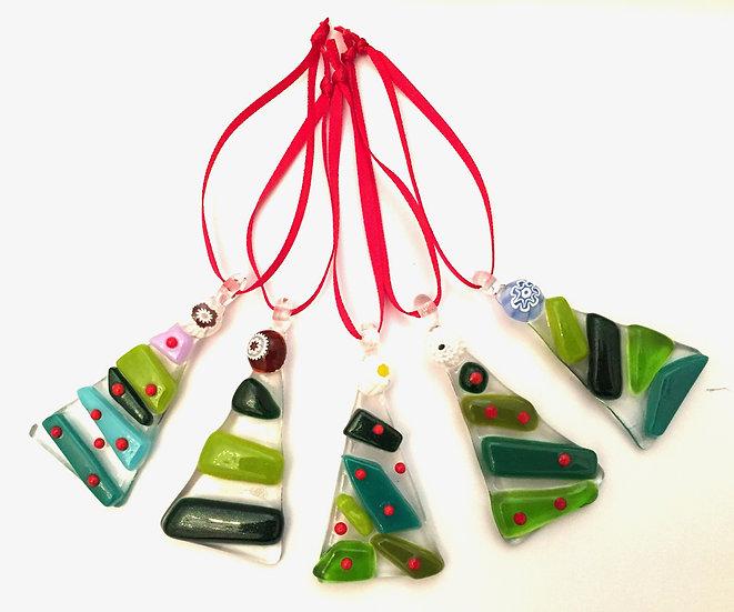 Coloured Christmas Tree Decoration