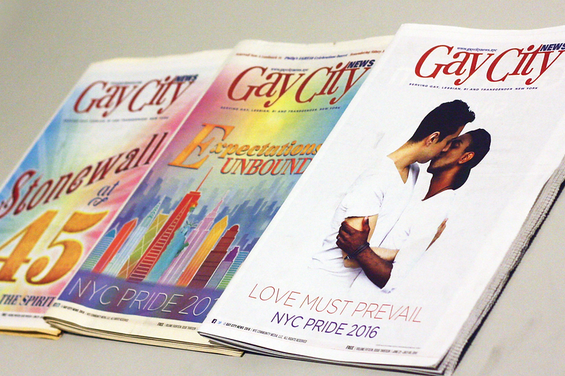 Gay City News Pride Covers