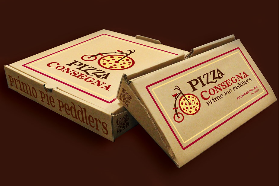 Pizza Consegna pizza box
