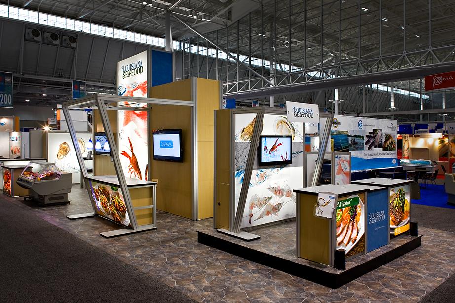 Louisiana Seafood Trade Booth