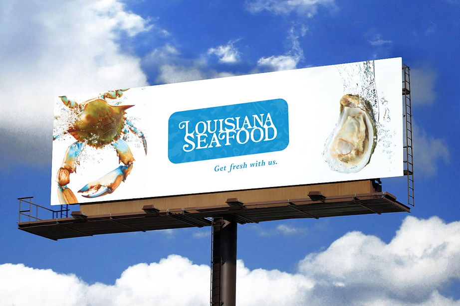 Louisiana Seafood Billboard