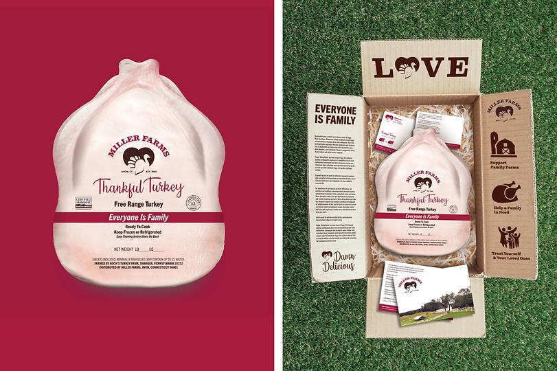 Miller Farms Turkey Packaging
