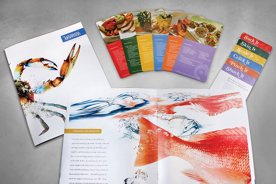 Louisiana Seafood Brochure