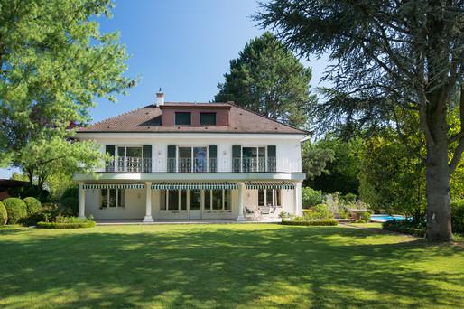 Villa mit Garten