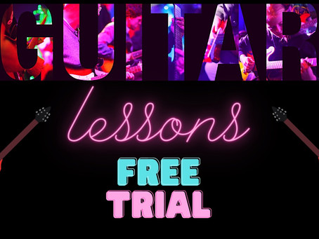 FREE TRIAL GUITAR LESSON
