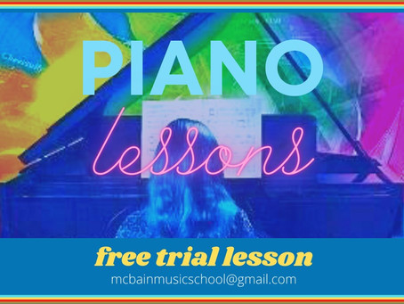 FREE TRIAL PIANO LESSON