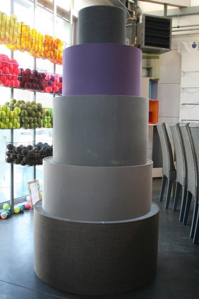 Abat-jour cylindrique XXL