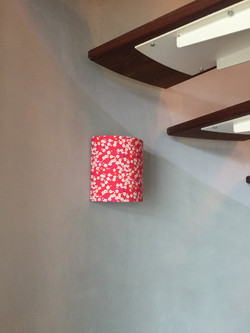 Applique murale cylindrique triple