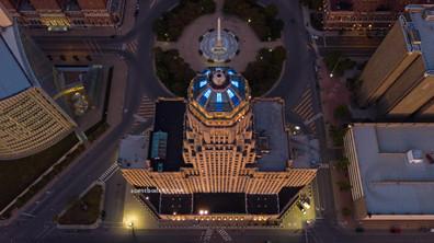City Hall Blue Lights #2