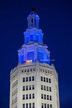 Electri Tower Blue Lights #1