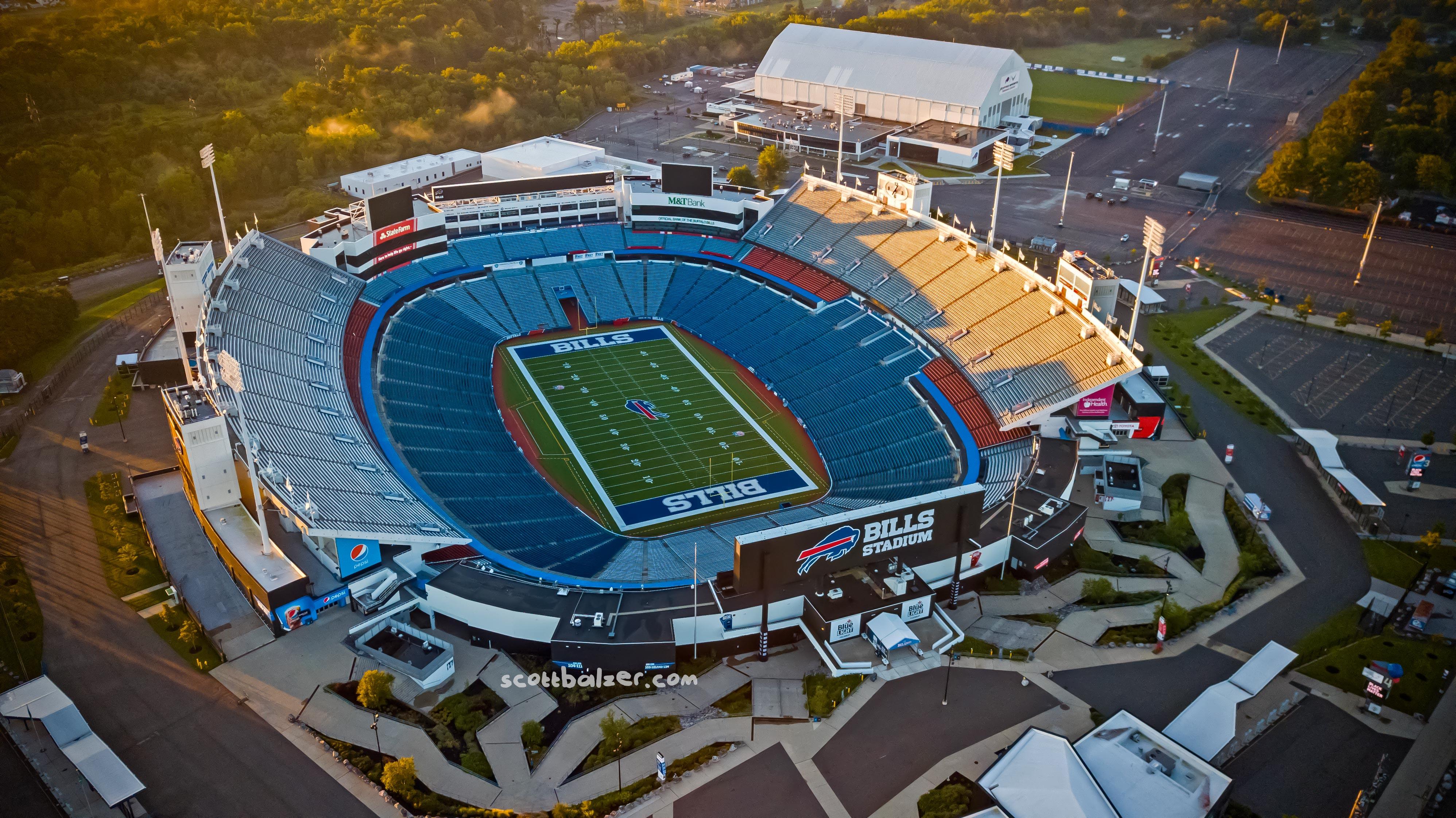 Bills Stadium Sunrise #3