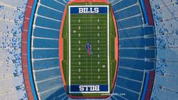 Bills Stadium Overhead Vertical