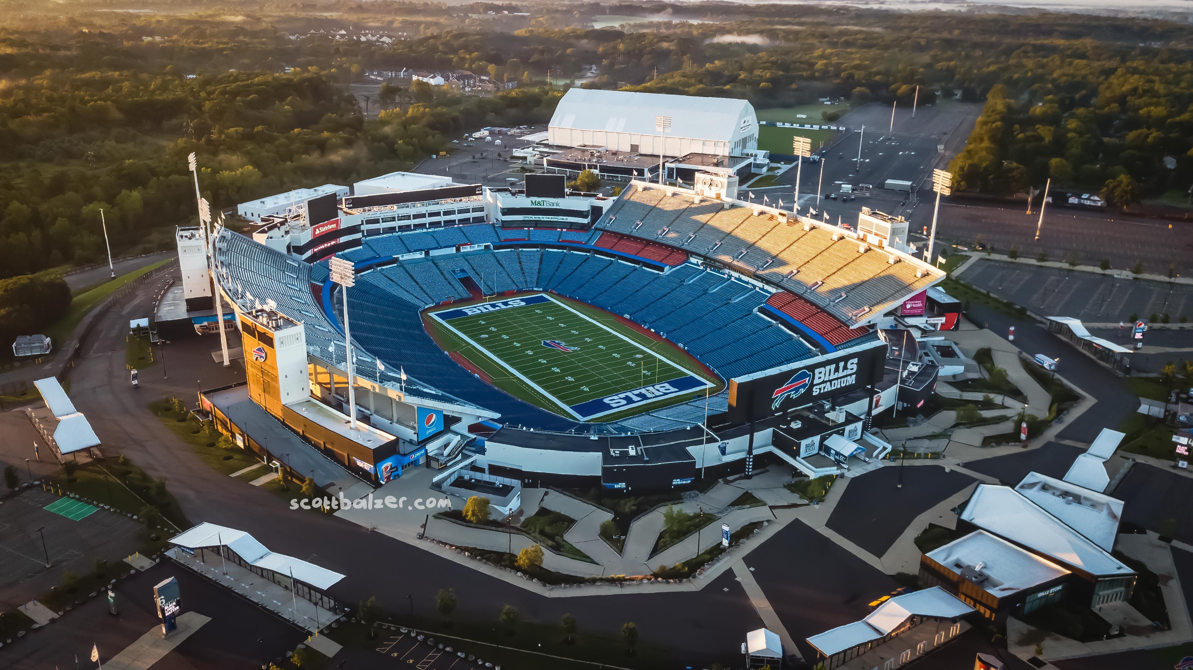 Bills Stadium Sunrise #1
