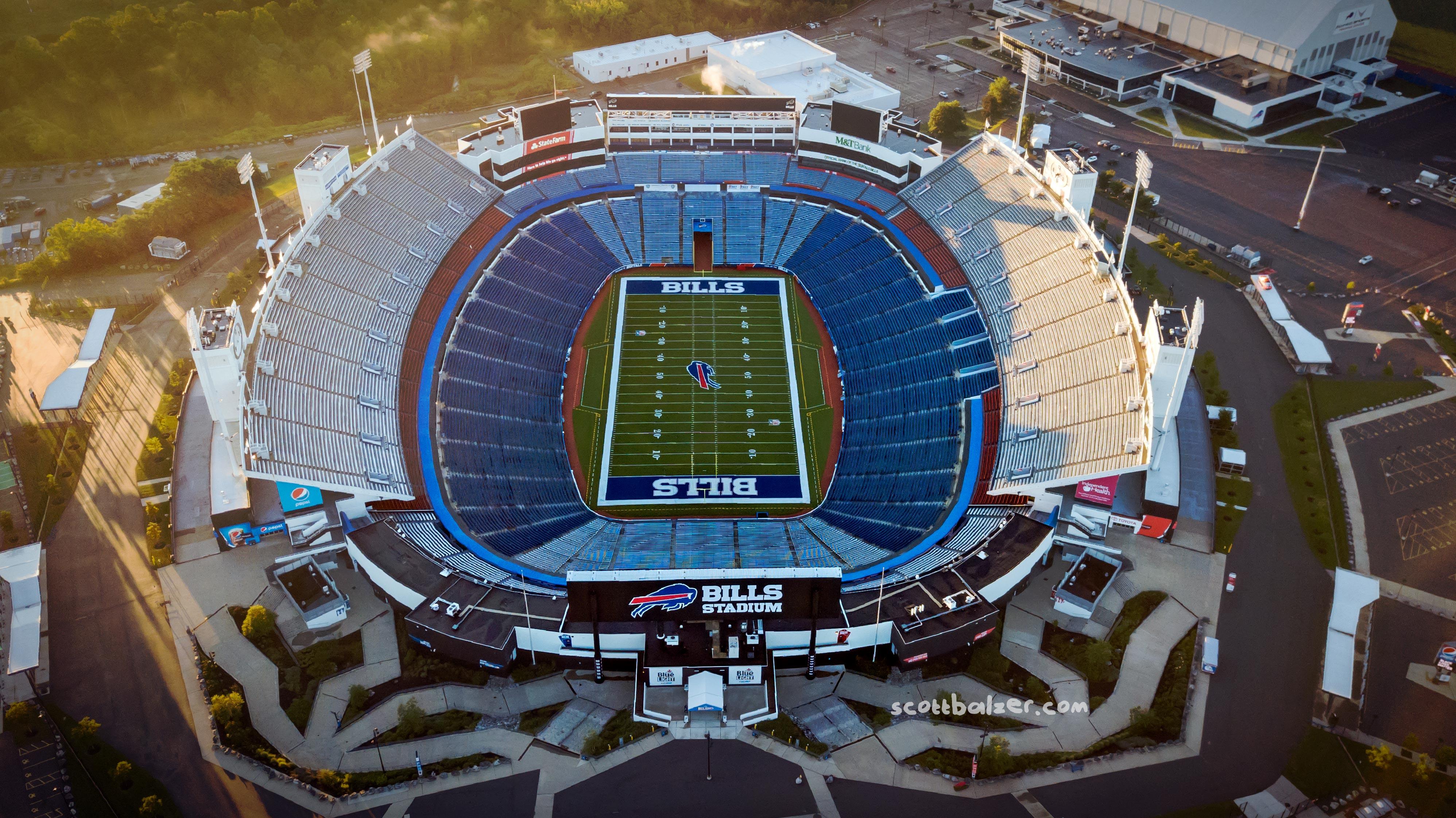 Bills Stadium Sunrise #2