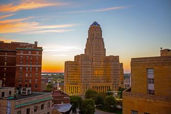 City Hall Sunset #1