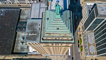 Liberty Building Looking Down