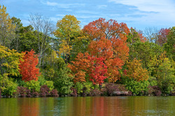 Color Reflections at Hoyt Lake