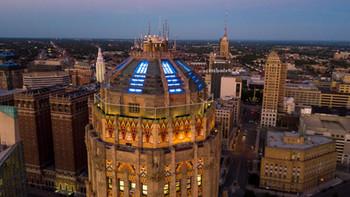 City Hall Blue Lights #3