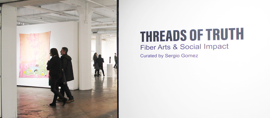 Threads of Truth, Social Impact & Fiber Arts