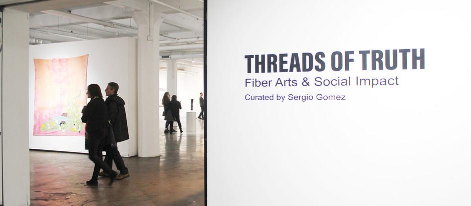 Threads of Truth, Social Impact & Fiber Arts