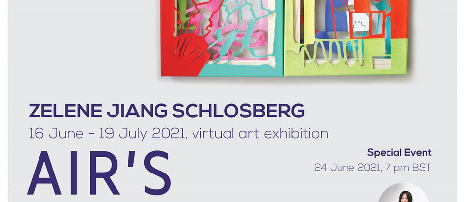 """Solo exhibition """"Air's Chamber"""" in June 2021 with WOLDT Gallery London"""