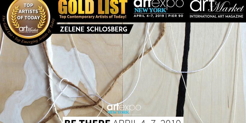 """Featured in """"Gold List #4"""", International Art Market Magazine"""