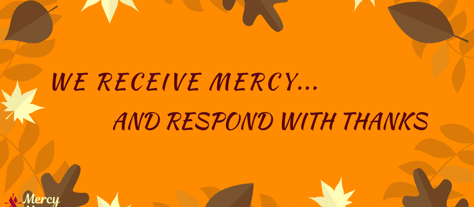 Mercy Moments – Thanks for Those We Serve