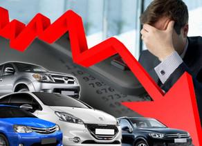 Las ventas en picada- Automotrices con temores.