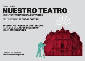 Convocatoria Nuestro teatro: concurso de obras cortas del Teatro Cervantes