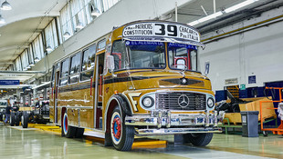 El clásico colectivo argentinocumple 50 años desde el inicio de su fabricación